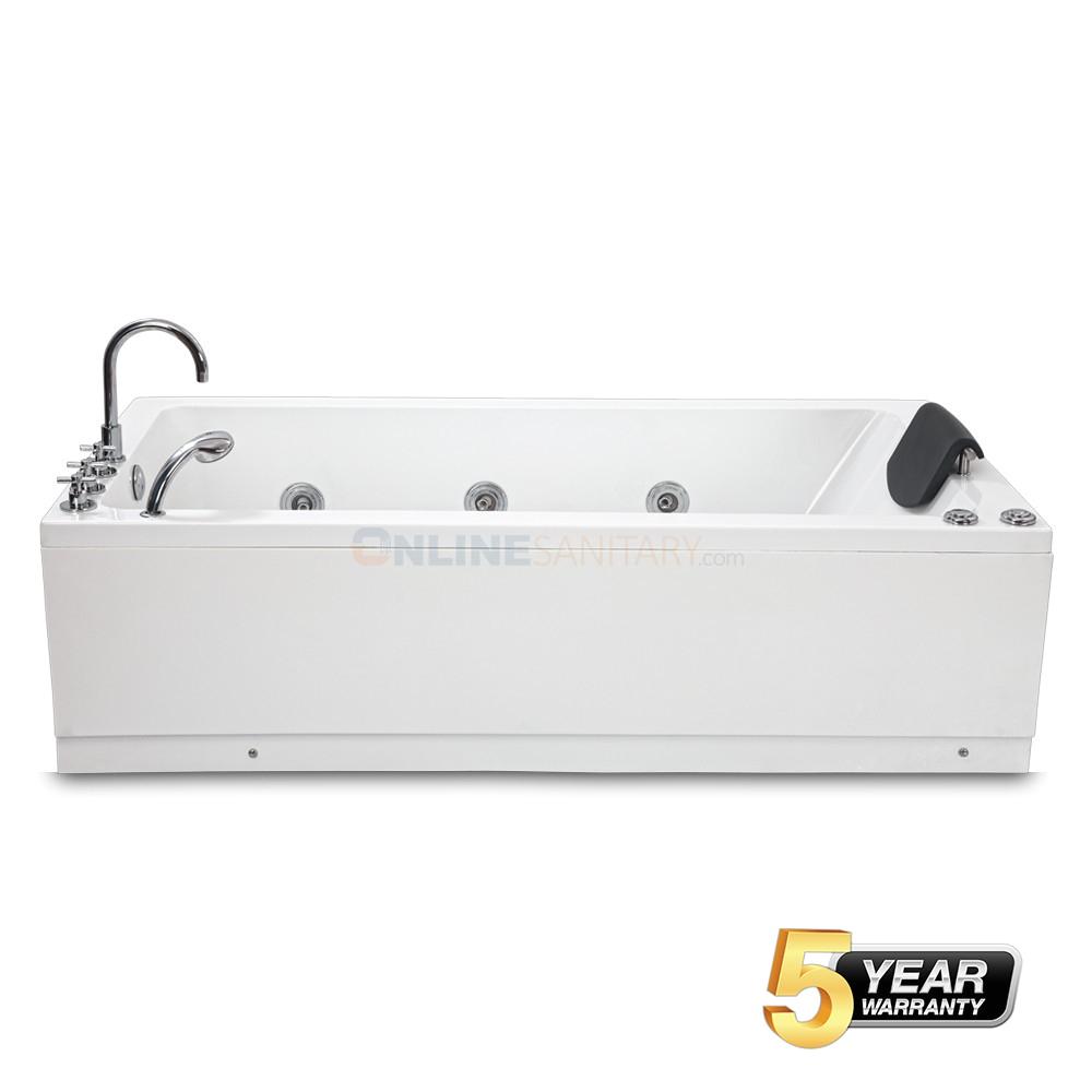 Jacuzzi Bathtub Kolkata Buy Zara Freestanding Jacuzzi Massage Bathtub at Best