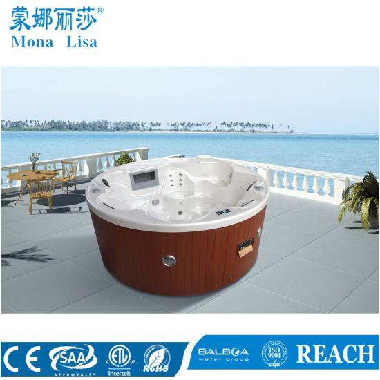 Jacuzzi Bathtub Kuwait China Round Jacuzzi Whirlpool Massage Pool Spa Hot Tub M