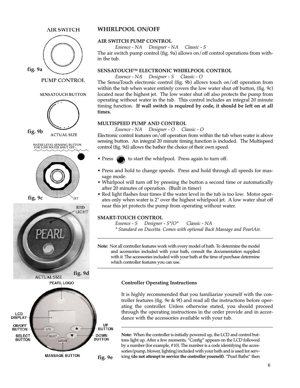Jacuzzi Bathtub Owners Manual Whirlpool Maax Pearl Hot Tub User Manual