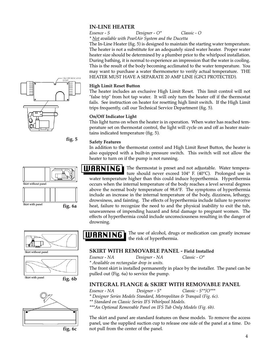 Jacuzzi Bathtub Repair Manuals Whirlpool Maax Pearl Hot Tub User Manual