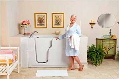 designed for seniors walk in tubs