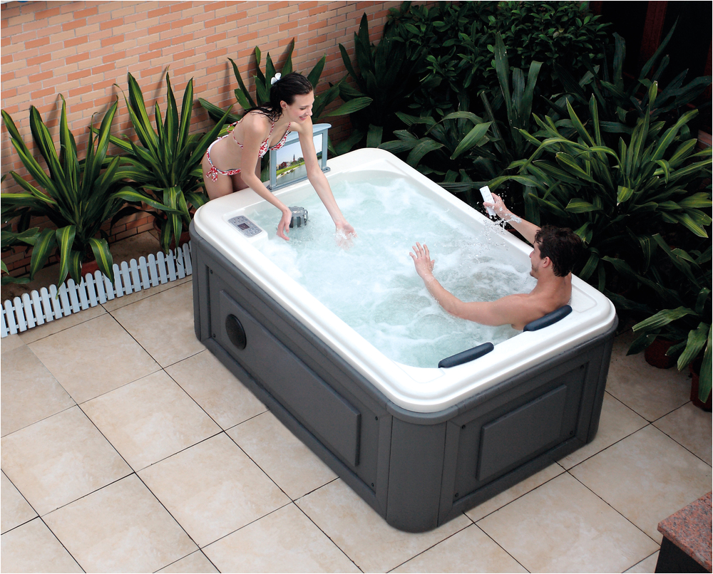 HS SPA291 outdoor spa whirlpool couple