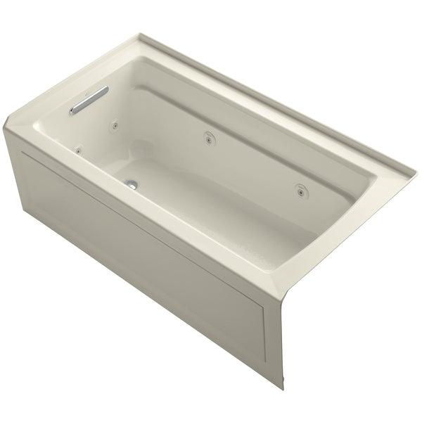 "Jetted Bathtub Alcove Shop Kohler K 1122 La Archer Collection 60"" Three Wall"