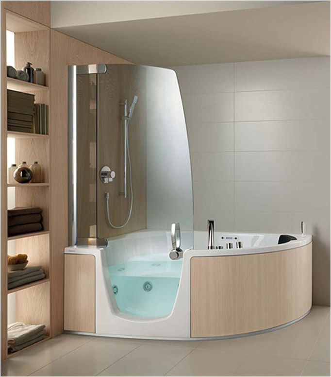 Jetted Bathtub Bathroom Bath and Shower Bo S
