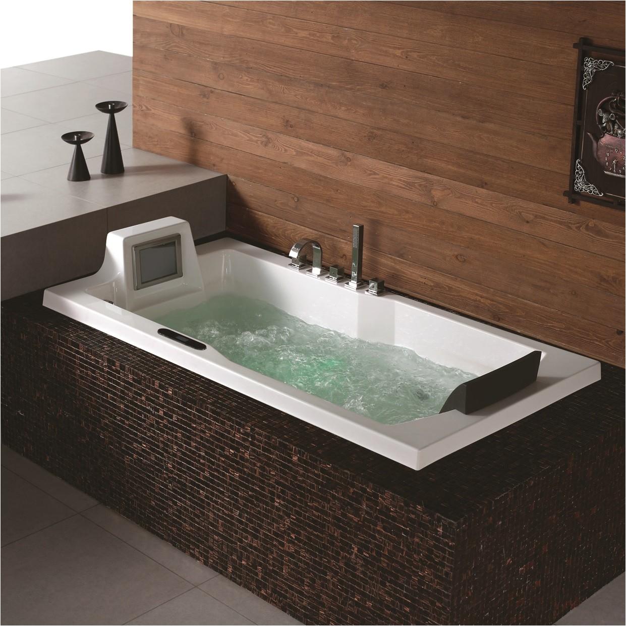valencia luxury whirlpool tub