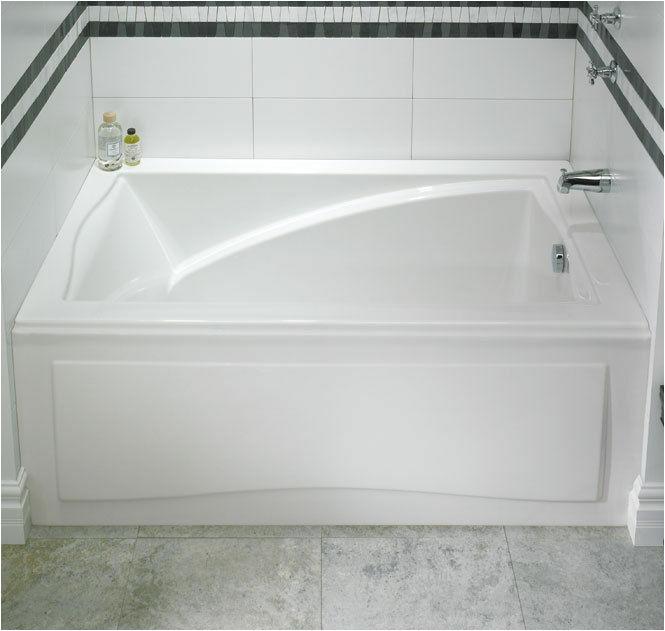 Jetted Bathtub Installation Neptune Delight 60×32 Acrylic Rectangle Bathtub with Apron