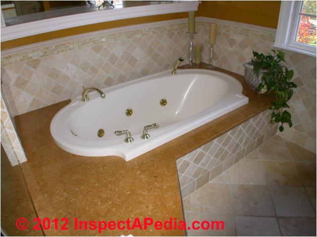 caulking around tub