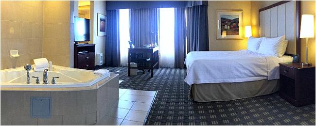 hotel hot tub suites