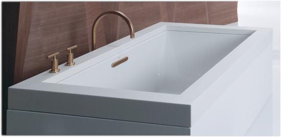 Kohler Acrylic Bathtubs Review Kohler K 1136 0 Underscore 5 5 Foot Acrylic Bath White