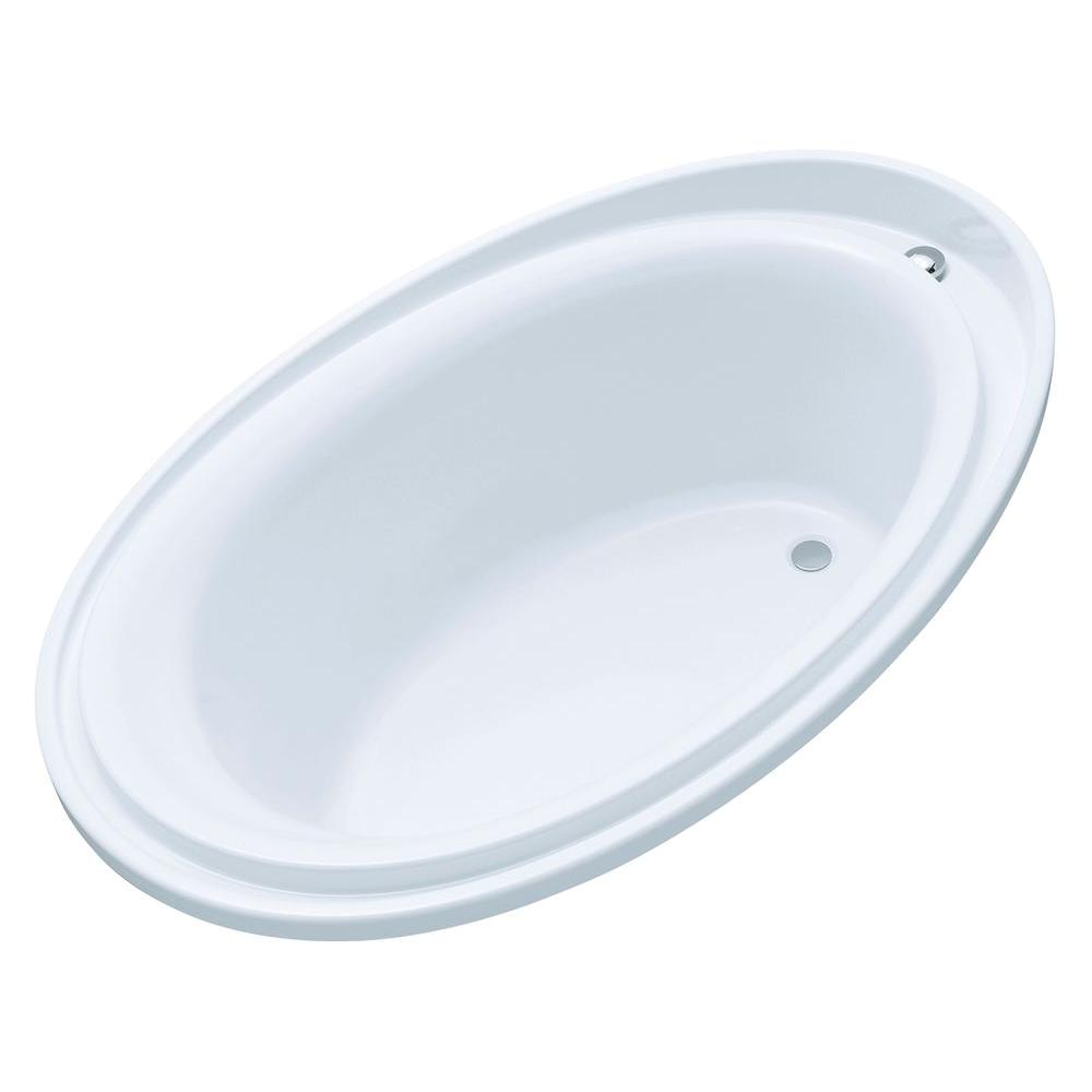 Kohler Bathtubs Drop In Kohler Purist 6 Ft Reversible Drain Drop In Acrylic