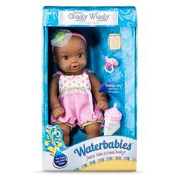 "La Newborn 8 Piece Realistic Baby Doll Bathtub Set Jc toys La Newborn 14"" Anatomically Correct Real Girl"