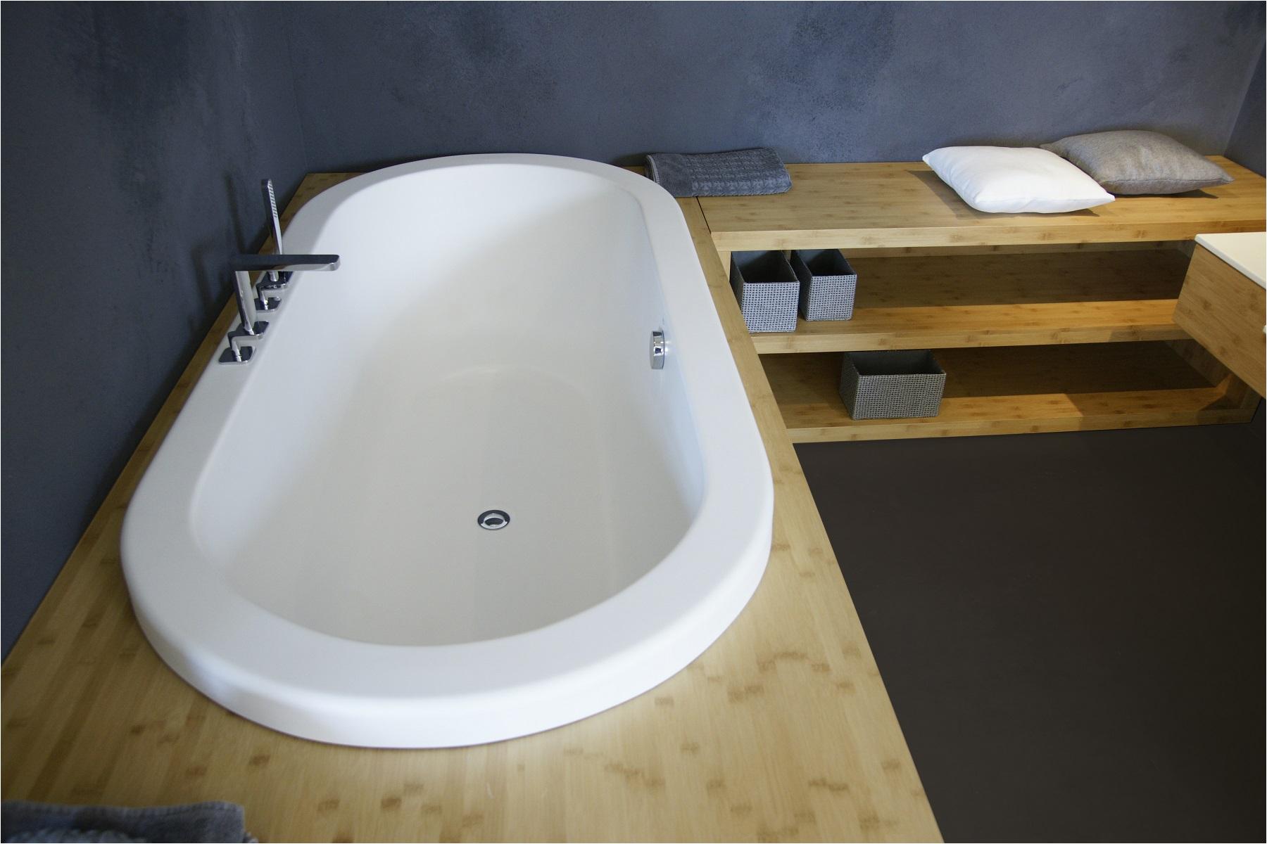 aquatica carol wht drop in stone bathtub fine matte