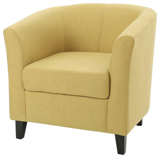 Upholstered Club Chair Light Green contemporary armchairs and accent chairs redirect= 1