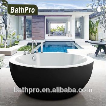 Little Bathtubs for Sale Black Bath 135cm Circle Round Shape Small Freestanding