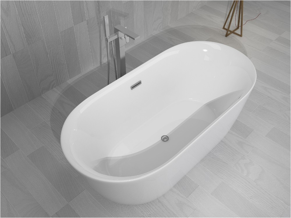 European classic royal acrylic soaking bathtub