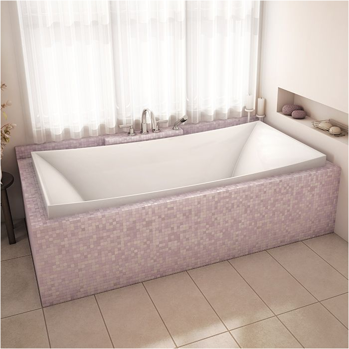 Luxury Alcove Bathtubs Luxury Modern Bathroom with Alcove S Contemporary Bathtub