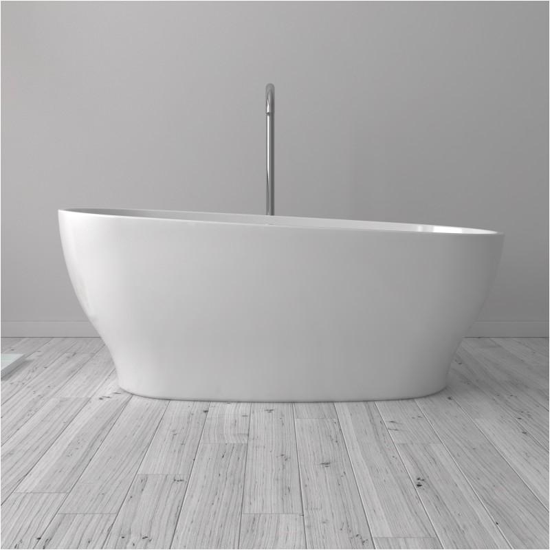 121 florence freestanding acrylic 63 tub