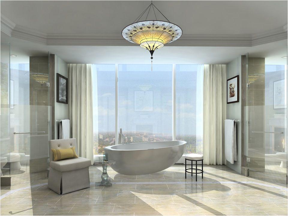 Luxury Bathtubs toronto Four Seasons Hotel and Private Residences toronto