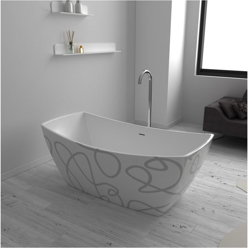 123 venice art freestanding acrylic 63 and 69 tub