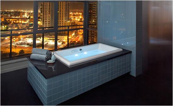 jacuzzi unveils three new luxury bathtubs