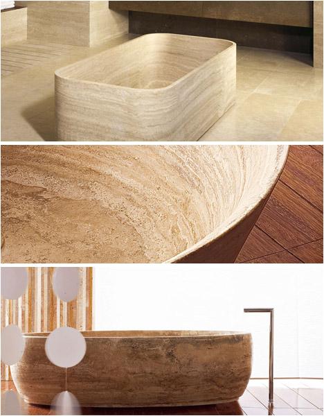 soaking deep in luxury 8 free standing stone bathtubs
