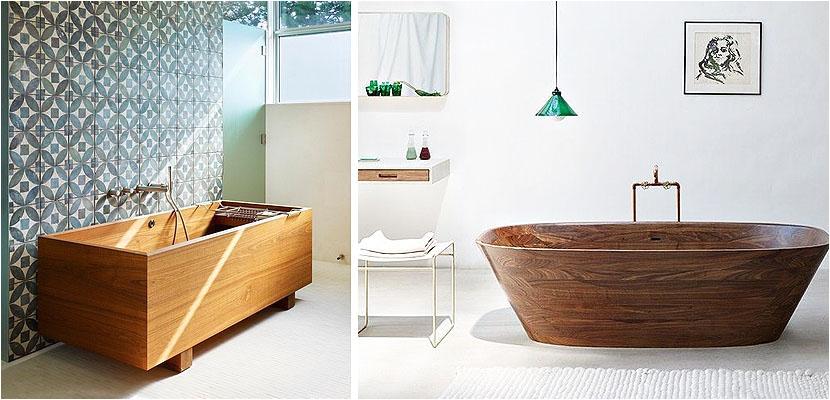 wooden bathtubs luxury pieces