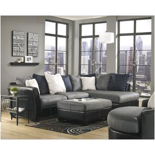 Masoli Cobblestone Oversized Swivel Accent Chair Signature Design by ashley Furniture Masoli Right