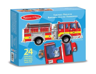 fire engine 24 piece floor puzzle melissa and doug