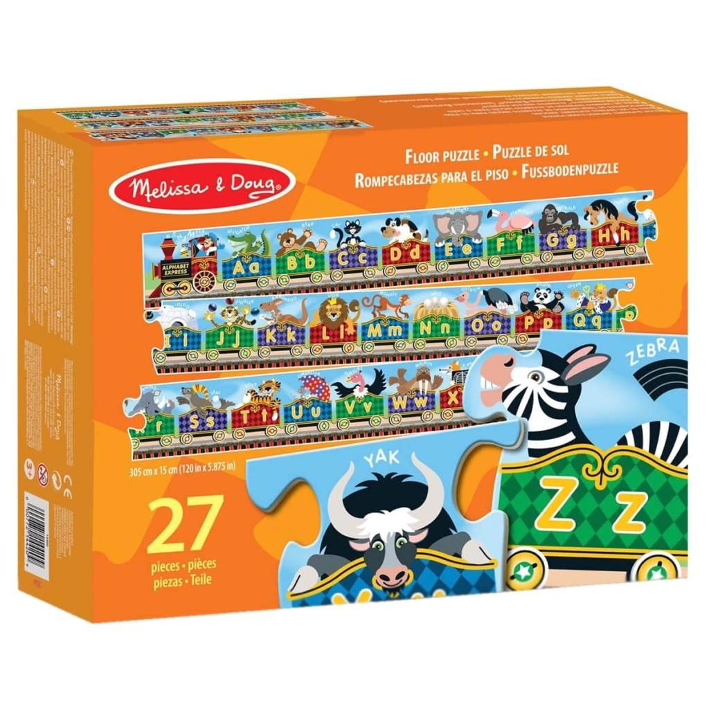 floor puzzle english alphabet express 27pcs