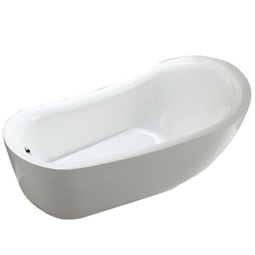 "Menards Acrylic Bathtubs Vinnova Everlie 71"" W X 35"" D Acrylic Freestanding soaking"