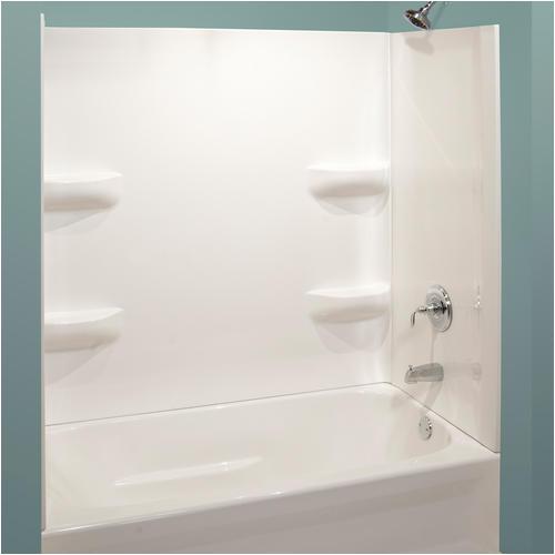 "Menards Bathtub Wall Surrounds Lyons Elite™ 54"" X 27"" Bathtub Wall Surround at Menards"