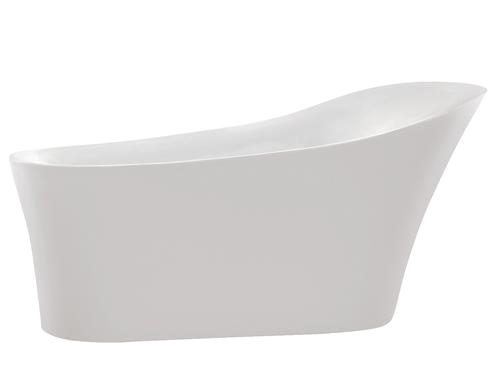 "Menards Freestanding Bathtubs Anzzi Maple 67"" W X 31"" D Freestanding Bathtub In White at"