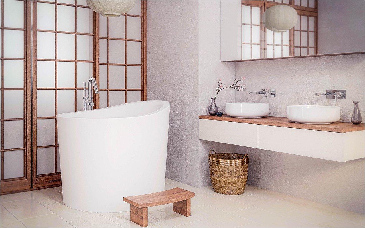 Mini Freestanding Bathtub Aquatica True Uro Mini Freestanding Stone Japanese