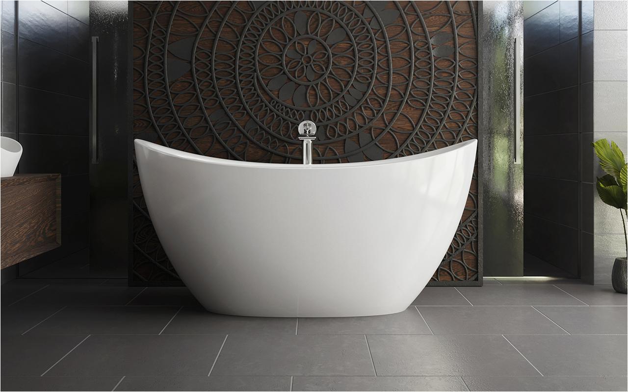 aquatica purescape 171 mini freestanding cast stone bathtub