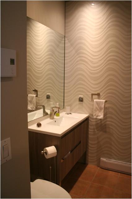 Outremont new cream bathroom contemporary bathroom montreal