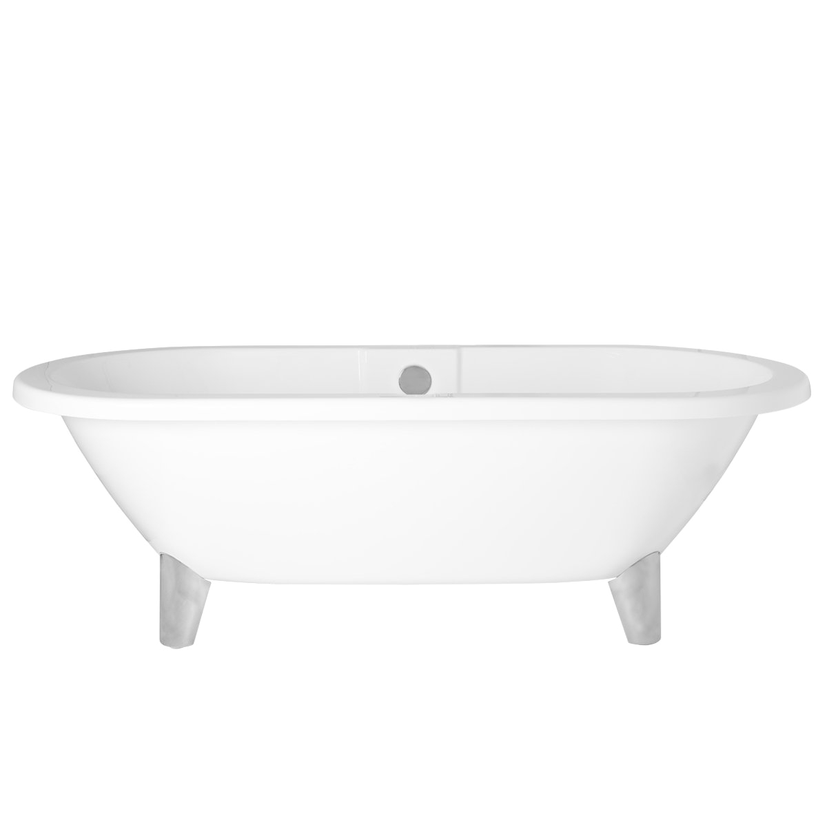 Modern Large Bathtubs Modern Designer Gloss White Large Freestanding Baths Roll