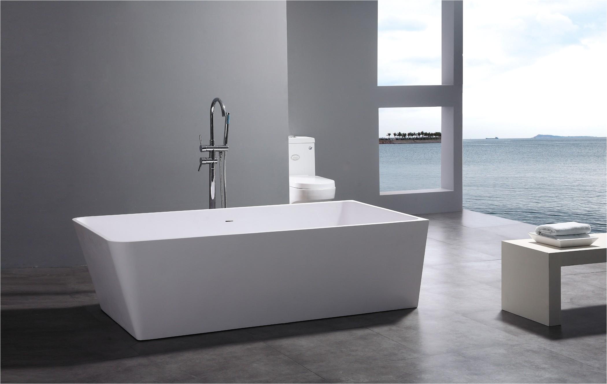 pd leona modern bathtub 71m