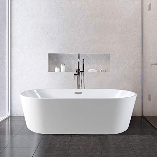 Modern Stand Alone Bathtub soaker Tub Amazon