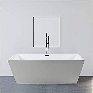 Modern Stand Alone Bathtubs Ferdy 67 Acrylic Freestanding Bathtub soaking Bathtub