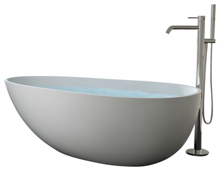 stone resin freestanding bathtub matte extra large modern bathtubs