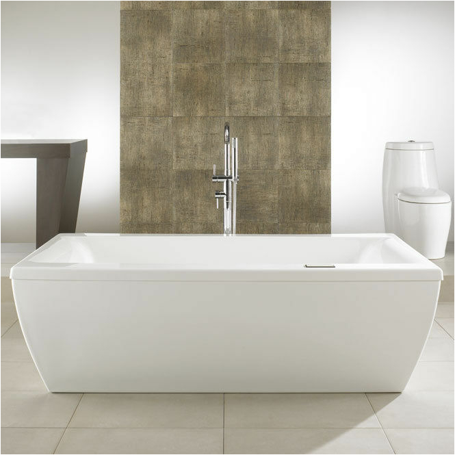 Modern Whirlpool Bathtubs Neptune Saphyr Modern 72×38 Free Standing Bath Tub with