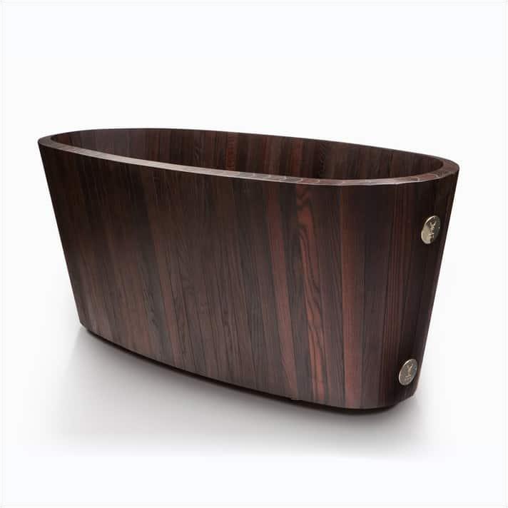 wood bathtubs for modern interior design and luxury bathrooms