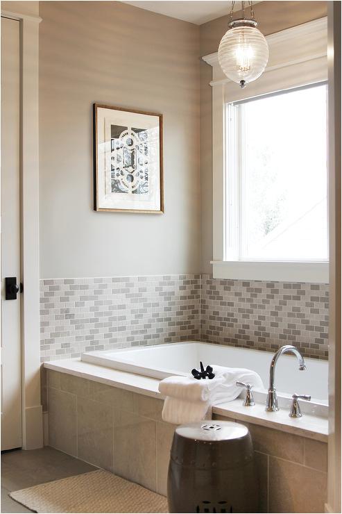 half tiled tub surround
