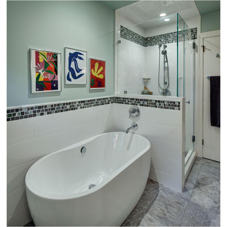 Narrow Freestanding Bathtub Freestanding Tub Bathroom Design by Tracey Stephens