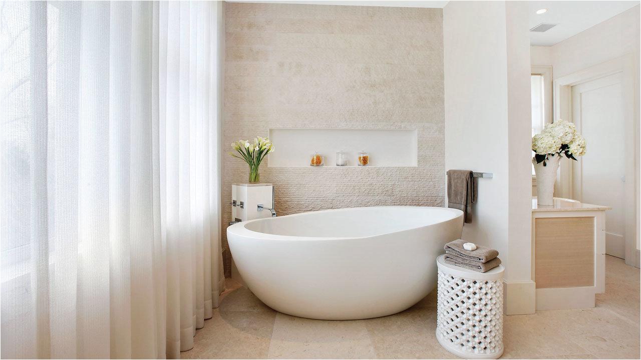 designing around a freestanding tub