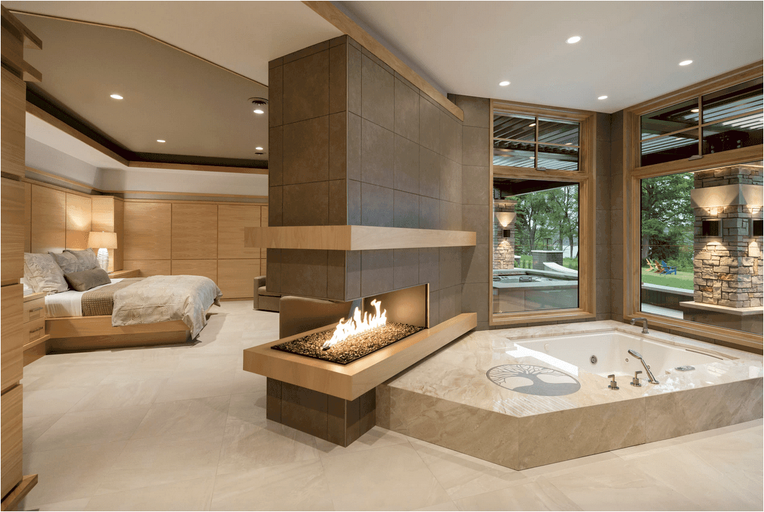 Near Bathtubs Luxury 60 Master Bathrooms with A Fireplace S