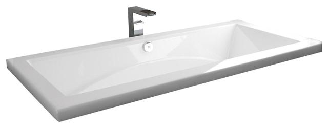 36 x 72 Oceania Drop In Union Bathtub Air and Whirlpool Massage System contemporary bathtubs