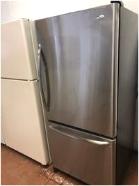 Old Bathtubs for Sale Perth Used 66x30x30 Amana Bottom Freezer Refrigerator Stainless