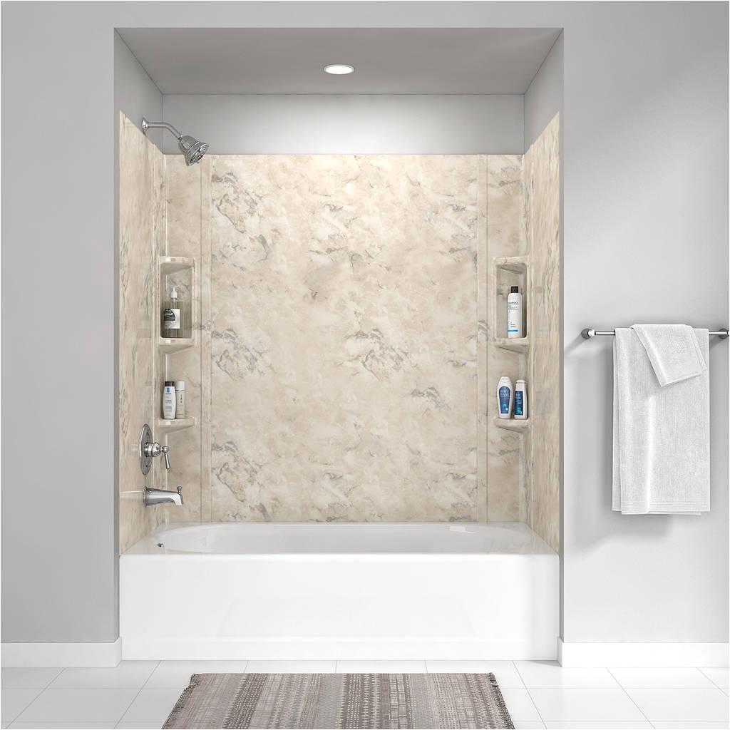 colony 60x59 inch bathtub walls