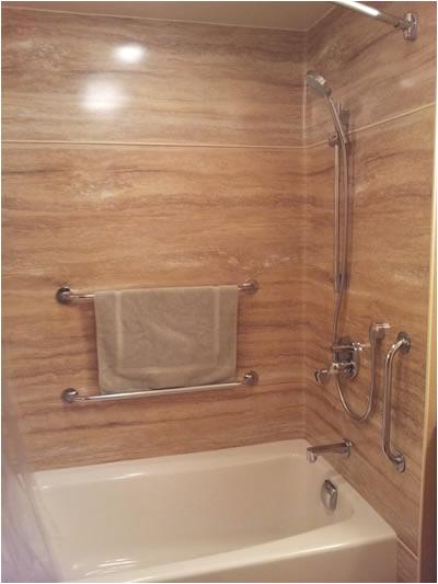 One Piece Bathtub Wall Surround Tubcove Seattle Laminate Seamless Bath Tub Wall Surrounds